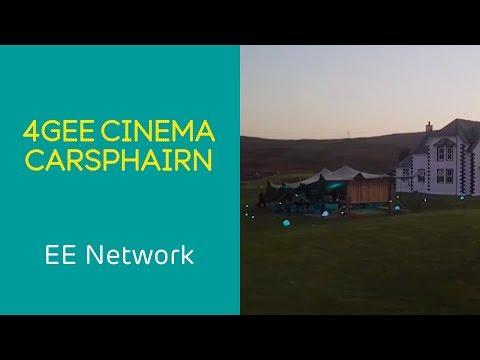 EE 4GEE Cinema | Carsphairn – Scotland