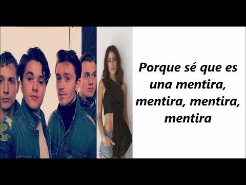 The Vamps w/ TINI - It's A Lie (Letra en español)
