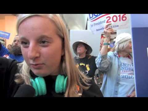 Sanders Supporters Protest and Speak Out At 2016 CA Democratic Party Convention