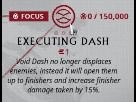 [Warframe] Naramon's Executing Dash in a nutshell