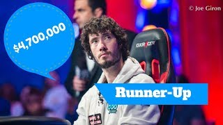 2017 WSOP:  Runner-Up Dan Ott