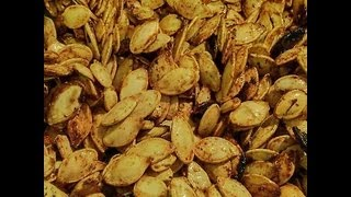 Caramelized Sweet Pumpkin Seeds! (cooking With Lydia!)