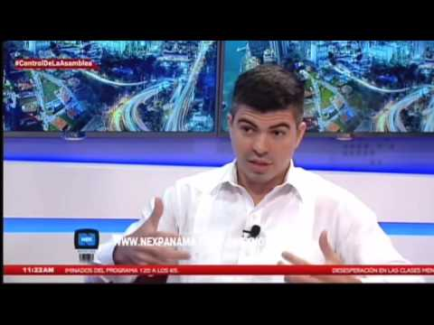 Richard Morales en Nextv Panamá - 1
