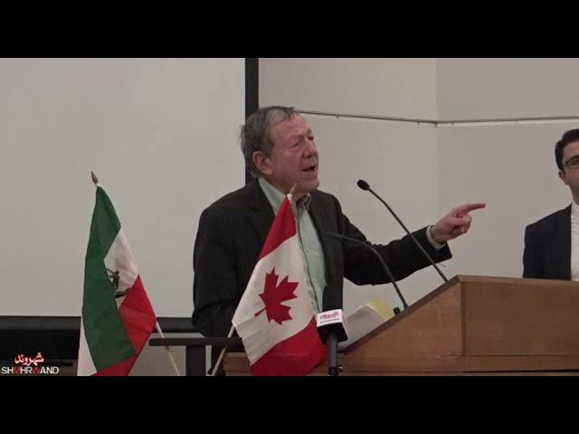 سخنرانی اروین کاتلر در همایش جامعه مدنی ایران و راهی به سوی دمکراسی