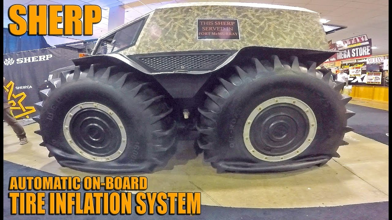 Sherp Atv For Sale >> Sherp On Board Exhaust Powered Tire Inflation System In Action Sherpfever Sherp