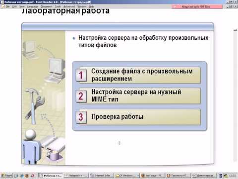 Урок 7. Настройка Internet Information Services  продолжение