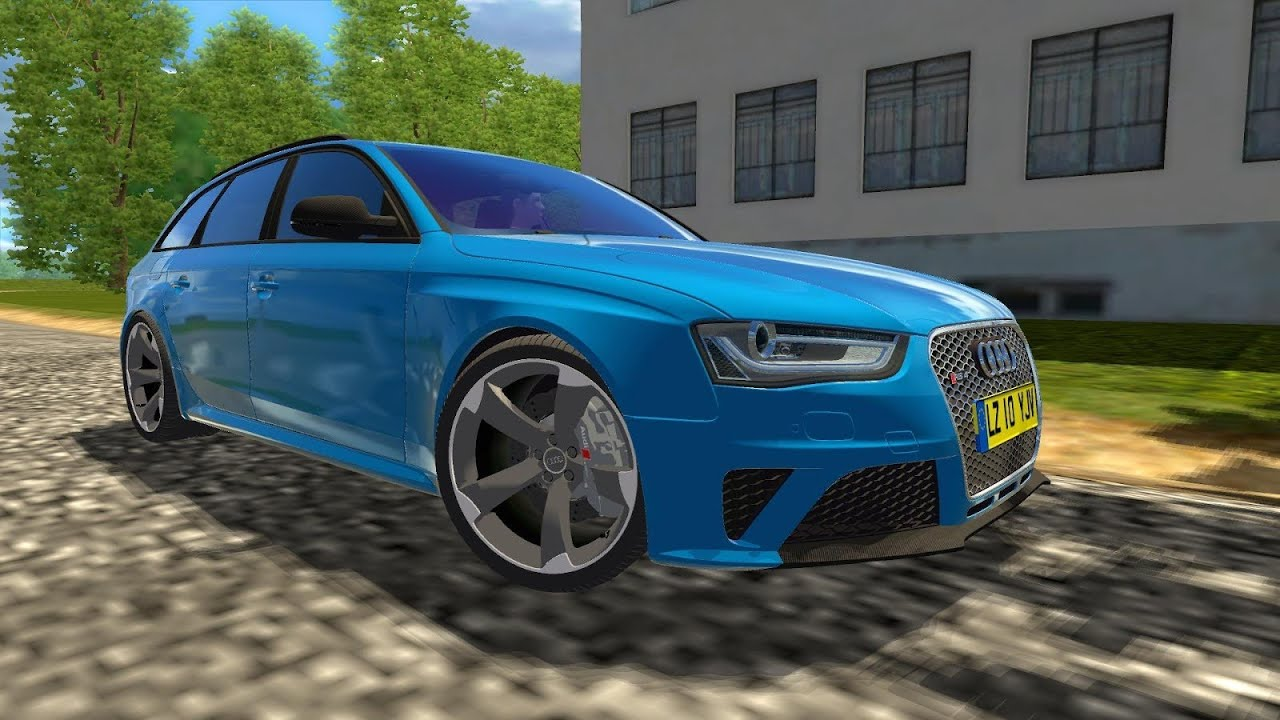 City Car Driving Audi A Avant