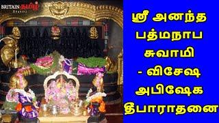 ஸ்ரீ அனந்த பத்மநாப சுவாமி – விசேஷ அபிஷேக தீபாராதனை | Sri Ananda Padmanabhaswamy – Adayar