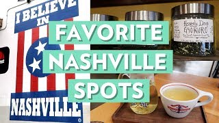 My FAVORITE Places in Nashville | A Day in My Airstream Life