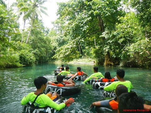 Water Tubing in Bugang River, Pandan, Antique