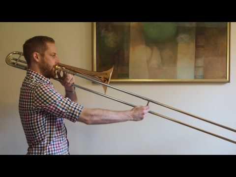 G Major Scale - Trombone