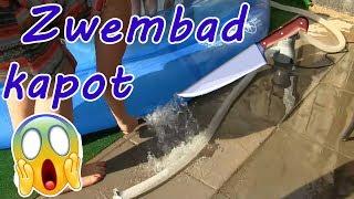 Vlog 220: VET GAAF COOL ZWEMBAD IN DE TUIN!!!!