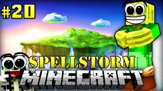 FLIEGENDE INSELN - Minecraft Spellstorm #020 [Deutsch/HD]
