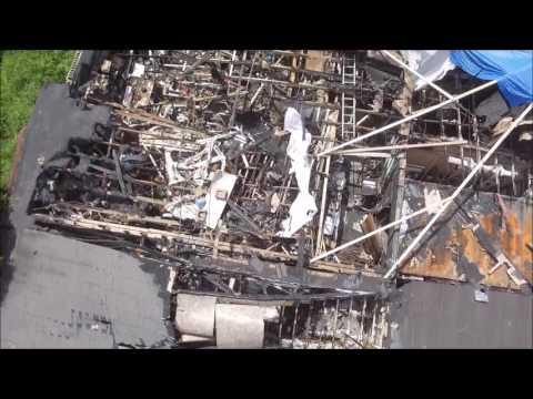 Drone Flyover Sports Forum In Kalamazoo, Michigan