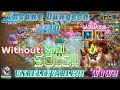 UNBELIEVABLE Sasquatch Solo 4-10 Without Spells! Castle Clash mp3 indir