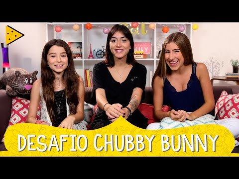 DESAFIO CHUBBY BUNNY COM A MAJU TRINDADE | IVANA & SOFIA