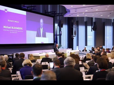 Mike Bloomberg Delivers Remarks at the High Level Conference for Financing Sustainable Growth