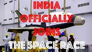 India Officially Joins Space Race
