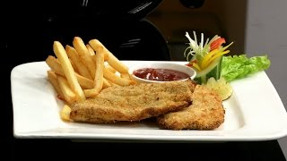 How To Make Crumb Fried Fish & Chips With Philips Airfryer By Vahchef