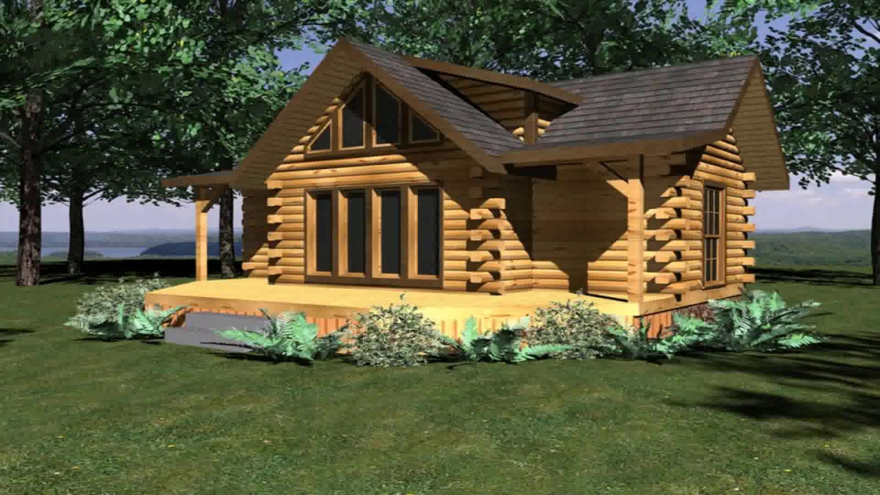 House plans under 1500 sq ft with basement youtube for Square log cabin plans