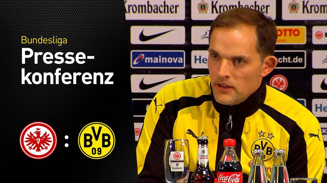 Pressekonferenz: Thomas Tuchel nach dem 1:2 in Frankfurt | Eintracht Frankfurt - BVB 2:1