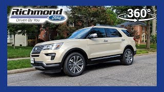 2018 Ford Explorer Platinum 360 Degree Virtual Test Drive
