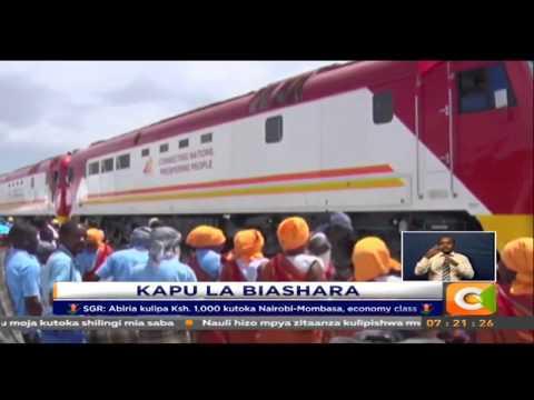 SGR: Abiria kulipa Ksh. 1,000 kutoka Nairobi-Mombasa