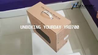 Unboxing Proyektor Yourday YRD700 TV Tuner