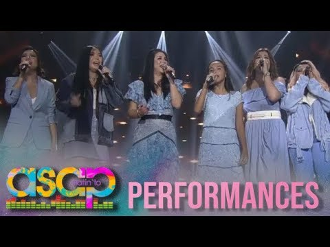 ASAP: Inspiring blind singer takes the center stage with the Kapamilya singers