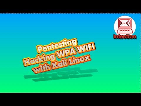 Pentest tutorial - Hacking WPA WIFI with Kali Linux