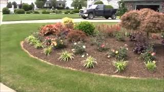 Landscaping Ideas: Corner Bed Planting