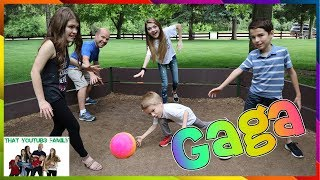 Gaga Ball That YouTub3 Family