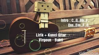 Video Virgoun - Bukti (Lirik + Kunci Gitar) download MP3, 3GP, MP4, WEBM, AVI, FLV November 2018