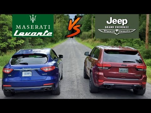 2019 Maserati Levante GTS VS 2018 Jeep Grand Cherokee Trackhawk | Best Luxury Performance SUV