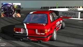 Trying My Wheel Online- Furidashi Drift FULL Drift Lobby!! | SLAPTrain