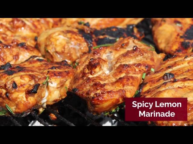 Spicy Lemon BBQ Marinade
