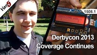 Derbycon 2013 Continues, Hak5 1508.1