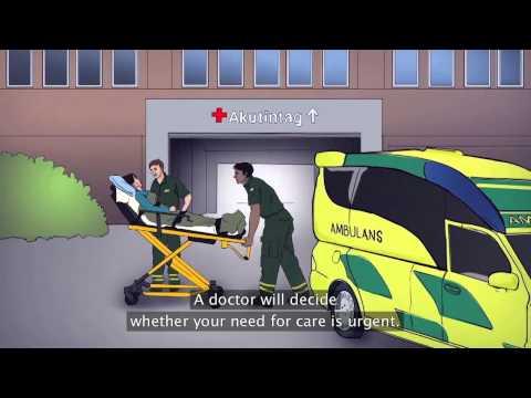 Seeking asylum in Sweden - Health (språk: engelska)