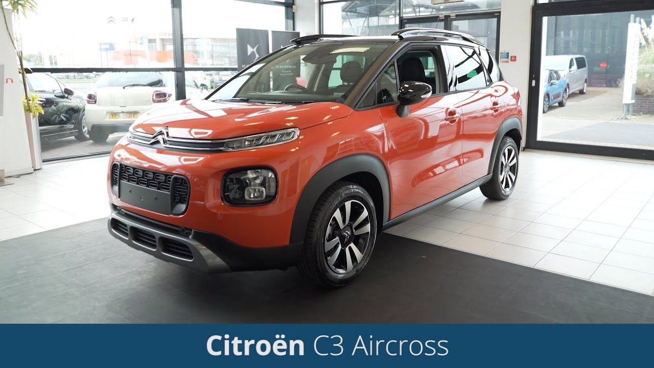 new citroen c3 aircross suv 2018 review youtube. Black Bedroom Furniture Sets. Home Design Ideas