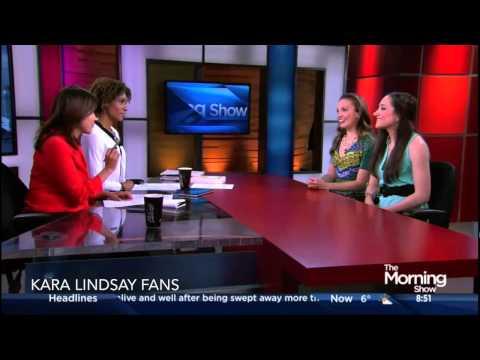 Kara Lindsay and Laurel Harris on The Morning  Toronto