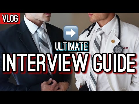 Medical School Interview Guide! | Med School Vlog