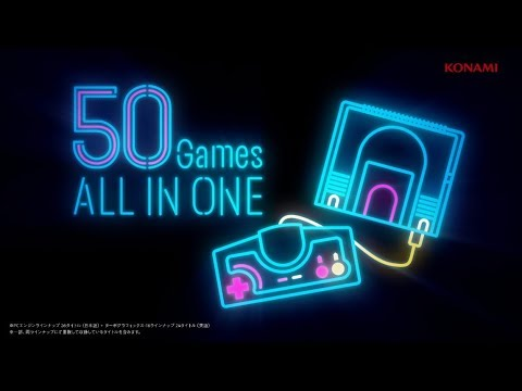 PC Engine mini Lineup Trailer