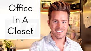 Back To School? Check Out My New Office | Home Hacks | Theodore Leaf