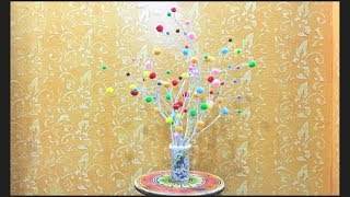 Decorate your home with little money || Tree branch DIY || Best out of waste