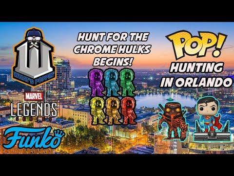 Funko Pop Hunting Orlando Pop Hunt and Hydro Man