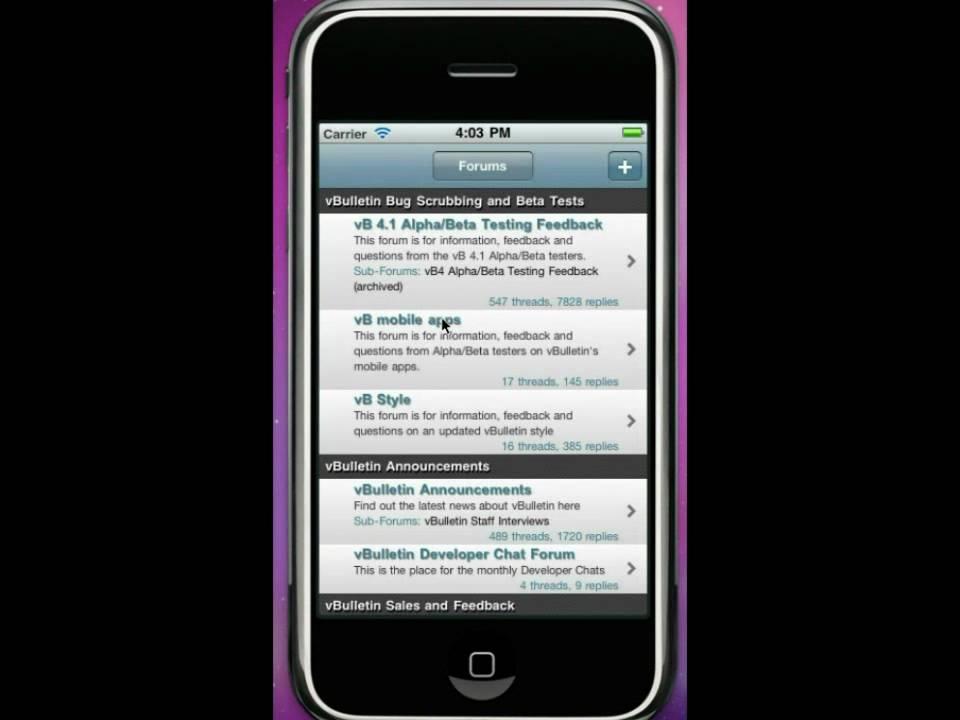 vBulletin Mobile Suite FAQ - vBulletin Community Forum