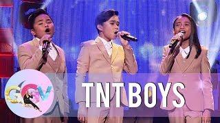 TNT Boys perform Pauwi na Ako   GGV