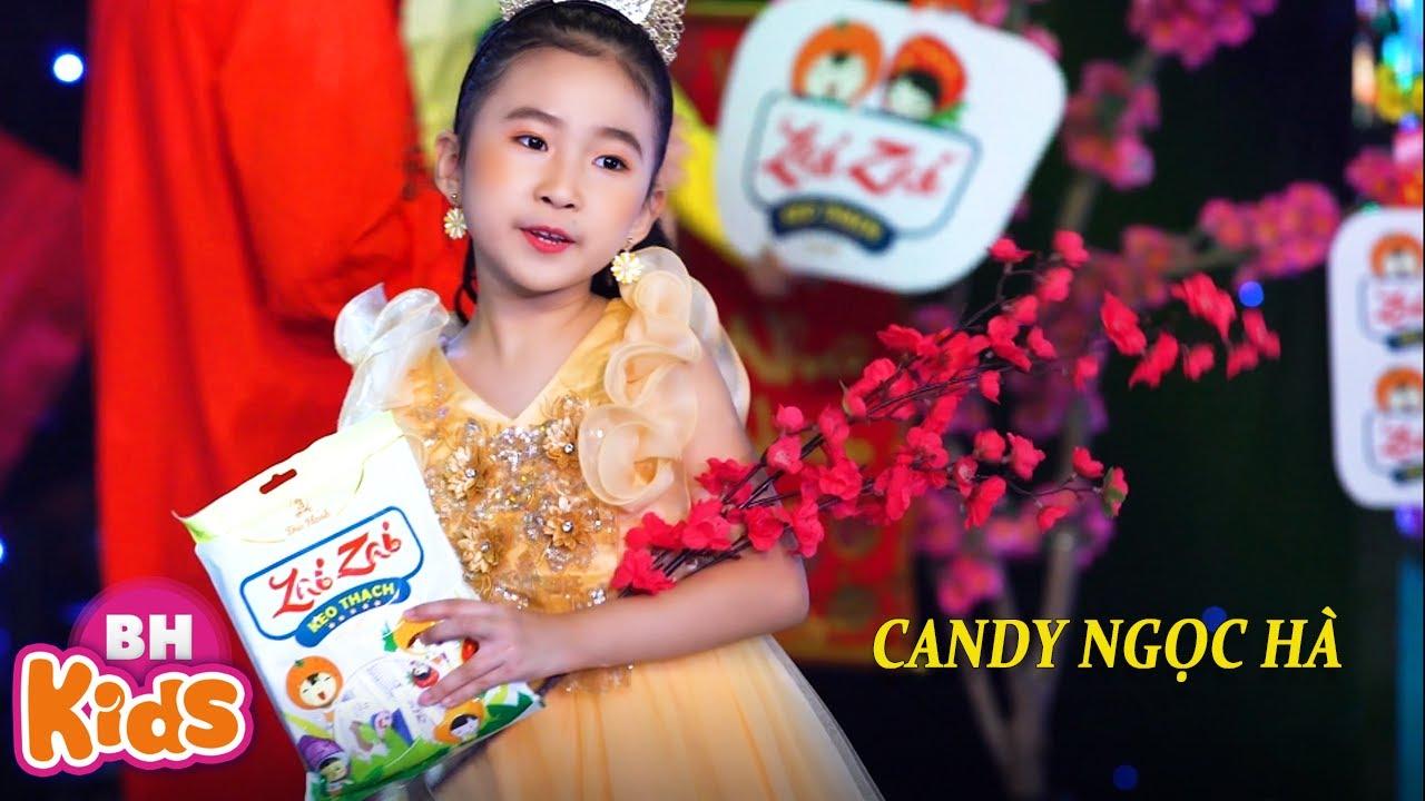Bé Chúc Tết Mọi Người ♫ Candy Ngọc Hà - Nhạc Chúc Tết Thiếu Nhi Hay Nhất 2021 [MV 4K]