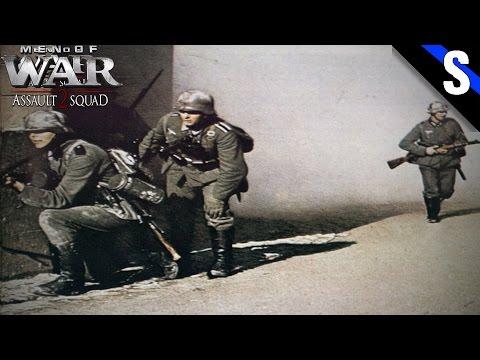 Men of War Assault Squad 2 Skirmish #2 Panzer Grenadiers Assault! |