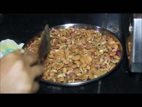 dry fruit healthy mix for children/home made healthy powder